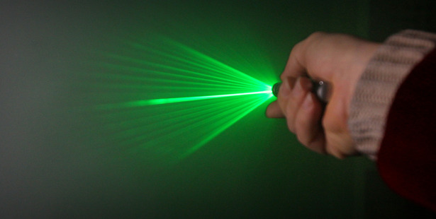 A laser was shone onto a plane as it prepared to land at Tauranga Airport. Photo/file