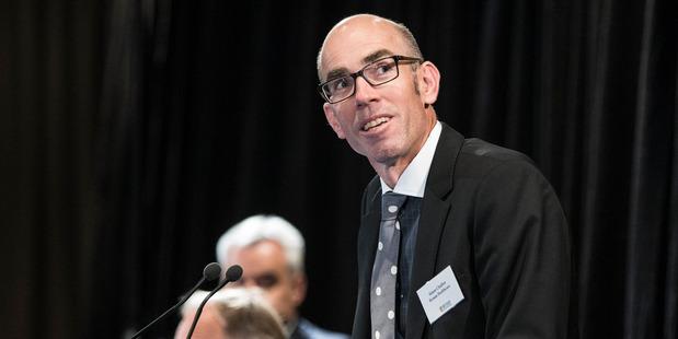 Ryman Healthcare managing director Simon Challies. Photo / Michael Craig