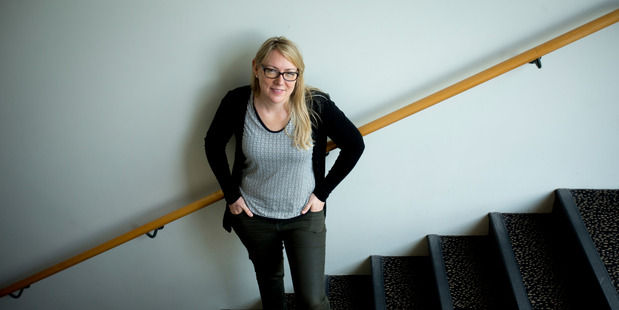 Massey University evolutionary microbiologist Dr Heather Hendrickson. Photo / File