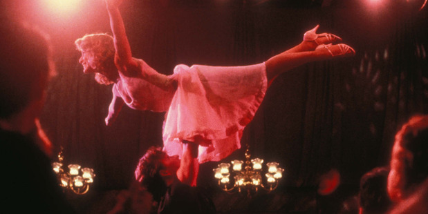 Scene from the original 1987 film Dirty Dancing. Photo / Supplied