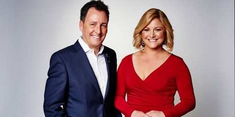 Seven Sharp hosts Mike Hosking and Toni Street are also in HD now.
