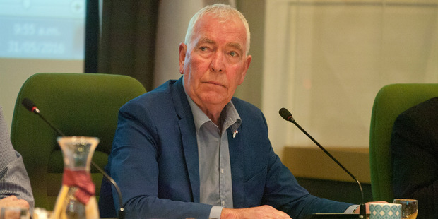Peter Bentley says he is not calling for statutory management of the council. Photo/File