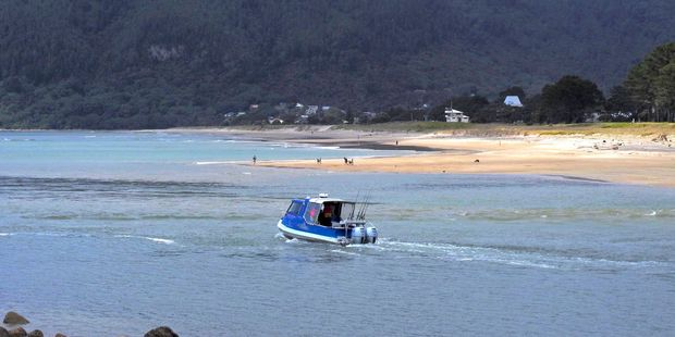 A boat heads out from Tairua towards Pauanui. Photo/File