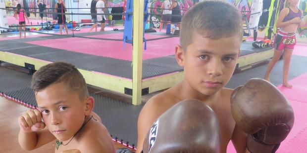 Kaitaia brothers, Adam and David Halkyard Leef. Photo / Supplied