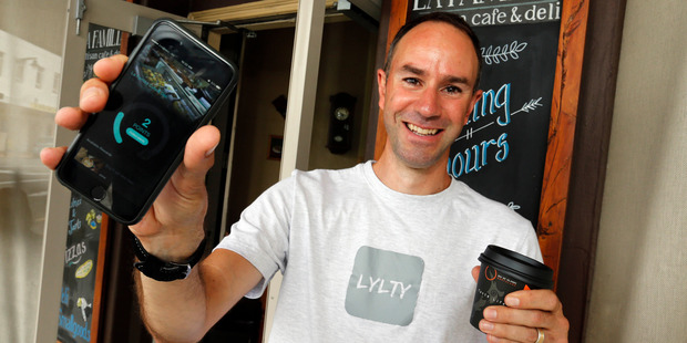 Paul Sumich has launched a loyalty app now being used in cafes and created by his Whangarei tech company. Photo / John Stone