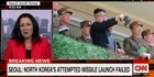 Watch: Watch: North Korea 'attempts to launch missile but fails'