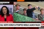 South Korea's military says North Korea attempted to launch a missile but it's failed. Source: CNN