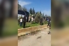 Syrian state TV says a car bomb has exploded near buses carrying Syrians evacuated from towns besieged by rebels in northern Syria. Source: LiveLeak