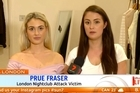 Two Australian sisters injured in an acid attack in the UK say they feared they were caught up in a terrorist attack when chaos broke out at a London nightclub. Source: Sunrise