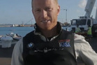Jimmy Spithill has been flung overboard in the latest America's Cup training drama in Bermuda. Photo / Twitter.