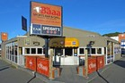 The land and buildings housing the Baaa Sports Bar and Grill at 746 Great King St, North Dunedin, are for sale as an investment property. Photo / Supplied