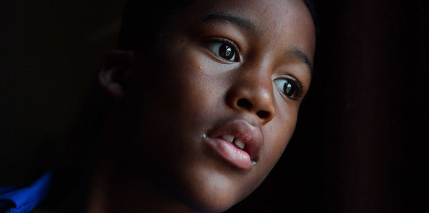 Tyshaun in the bedroom he shared with his dad in Southeast Washington. Photo / Washington Post