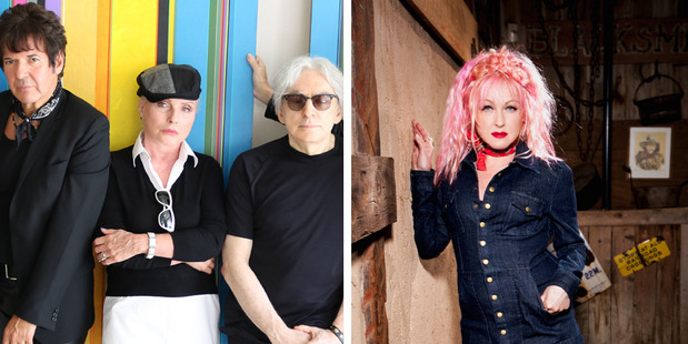 Blondie and Cyndi Lauper played the hell out of Vector Arena on Monday night.
