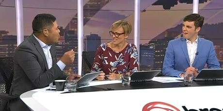 Daniel Faitaua's co-hosts Hilary Barry and Jack Tame were appalled by the children's reported behaviour.