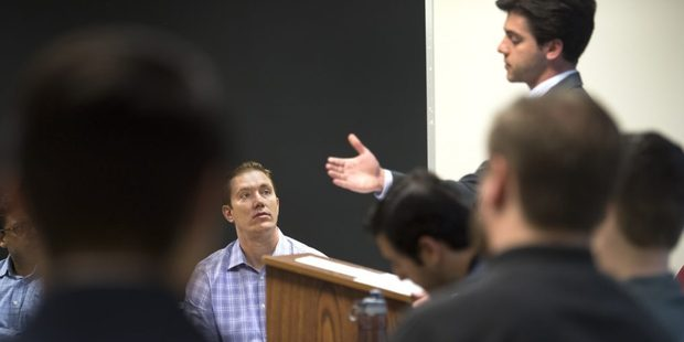 Hopwood teaches at Georgetown University Law Center. Photo / Linda Davidson / The Washington Post