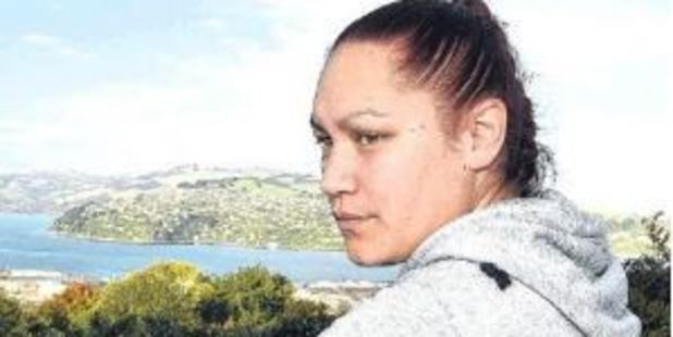Finding a home has proved a struggle for Dunedin mother of three Ki'anie Pikia. Photo / Otago Daily Times