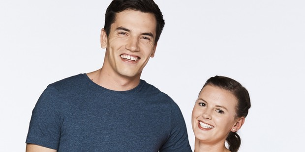 MKR team Josh and Amy are rallying against their portrayal in the reality series. Photo / TVNZ