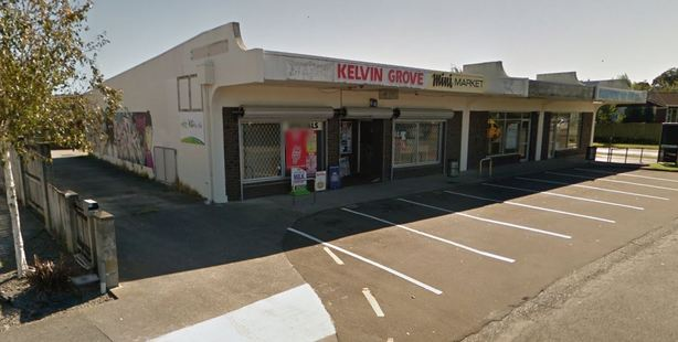 Members of the public provided information to police after witnessing a man and his vehicle fleeing from the scene on Rhodes Drive in Kelvin Grove, Palmerston North. Photo / Google