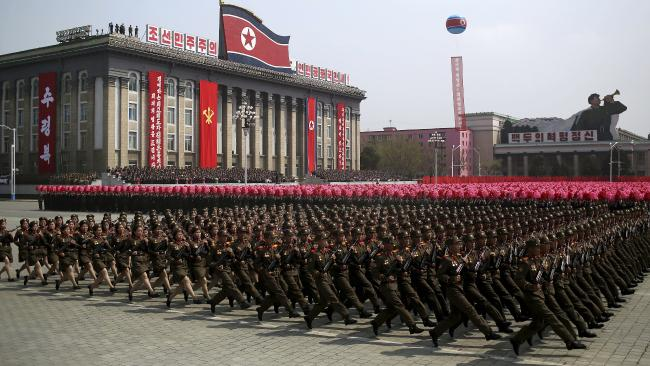 North Korea continues to threaten nuclear attacks. Photo/AP
