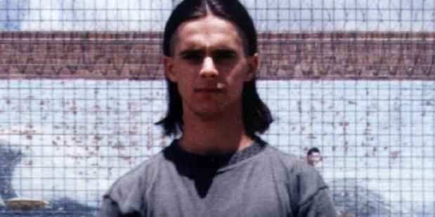 De Gruchy in prison. Photo / news.com.au