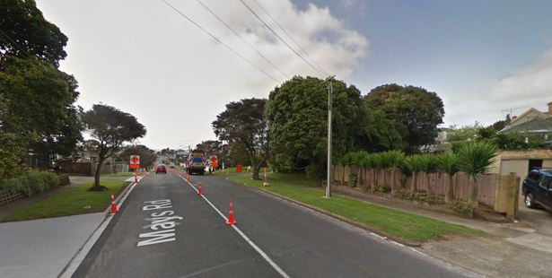 The collision happened just before 8am on Mays Rd in Onehunga.