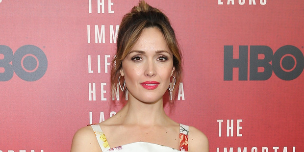 """NEW YORK, NY - APRIL 18: Actress Rose Byrne attends """"The Immortal Life Of Henrietta Lacks"""" New York Premiere at SVA Theater on April 18, 2017 in New York City. (Photo by Bennett Raglin/Wir"""