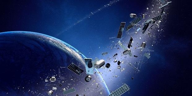 Loading Space junk orbiting around earth. Photo / 123RF
