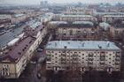 Low-rise housing in the Polezhaevskaya district of Moscow. Photos / The Washington Post.