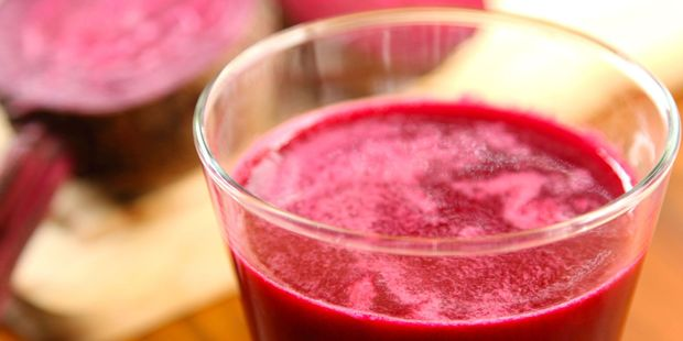 Drinking beetroot juice before exercise makes the brain appear younger and healthier. Photo / 123RF