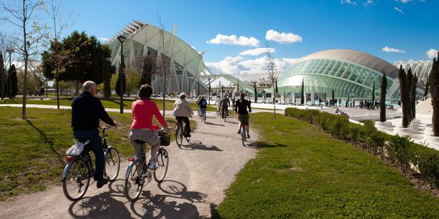 Cycling in Valencia, Spain. Photo / Supplied