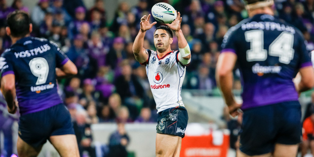 Warriors halfback Shaun Johnson's game management has come into question. Photo / Getty
