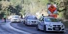 Watch: SH36 shut down after fatal truck crash