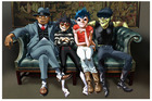 Virtual pop band Gorillaz return with Humanz, their first album in seven years