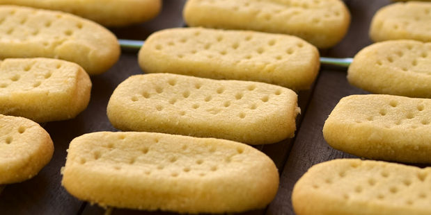 Shortbread and Scottish oatcakes have been given the royal seal of approval. Photo / 123RF