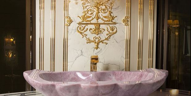 Dreamy? Asked what it's like to bathe in one of the luxury tubs, Luca Baldi, CEO of Baldi, told MailOnline Travel that it 'transcends reality'. Photo / XXII Carat