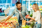 Happy people were more likely to choose fresh produce and meats, the New World survey found. Photo/ 123rf