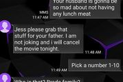 A mother refused to believe she had the wrong number. Photo / Imgur