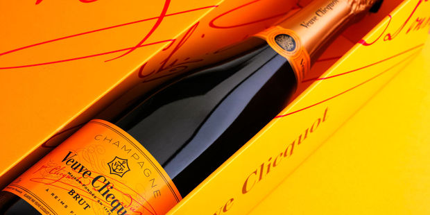 Veuve Clicquot is one of the Queen's champagnes of choice. Photo / 123RF