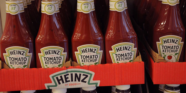 If the Queen wants tomato sauce, she reaches for a bottle of Heinz. Photo / 123RF