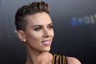 'Rough Night' star Scarlett Johansson invited her doppelgänger Geraldine to share a drink with her. Photo / AP