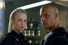 Charlize Theron, left, and Vin Diesel in The Fate of the Furious. Photo / Universal Pictures via AP