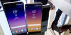 The Samsung Galaxy S8, right, and the S8 Plus. Photo / AP