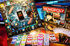 Monopoly Ultimate Banking Game from Hasbro is displayed at Toy Fair in New York. Photo / AP