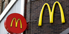 Smaller and bigger versions of the Big Mac helped drive up average spending at McDonald's. Photo / AP