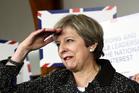 Britain's Prime Minister Theresa May. Photo / AP