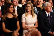 Melania Trump, left, Ivanka Trump are said to have a frosty relationship. Photo / AP