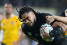 Ma'a Nonu scores during the 2015 Rugby World Cup final against Australia. Photo / Brett Phibbs