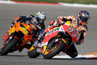 Marc Marquez during a warm up session for the Grand Prix of the Americas MotoGP race. Photo / AP