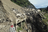 The damage caused by this 2011 slip in the Manawatu Gorge closed the route for 16 months.