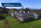The homestead is very private and sunny with commanding views over rolling farmland. Photo / PGG Wrightson Real Estate